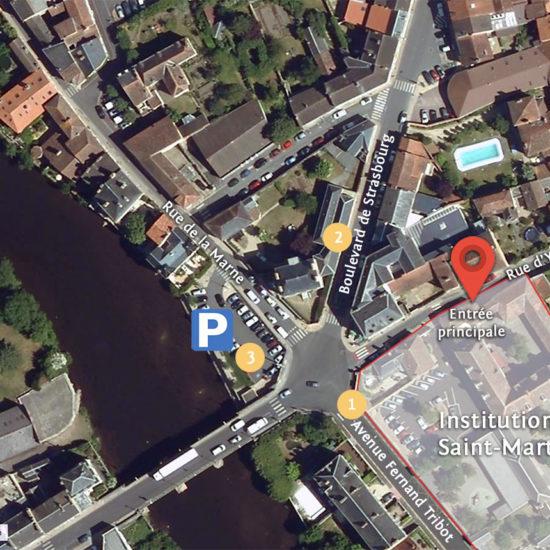 Stationnement Saint-Martial
