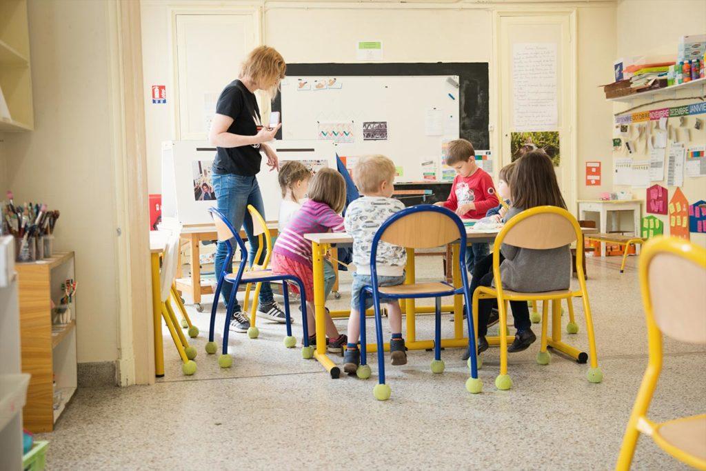 Salle de classe des maternelles