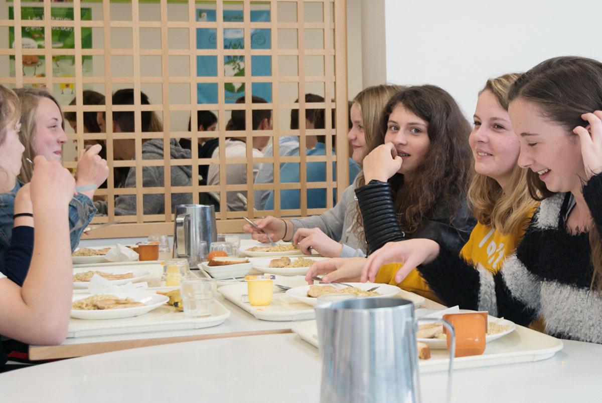 La table des filles